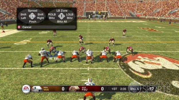 NCAA Football 09 Screenshot #505 for Xbox 360