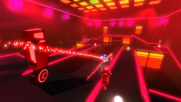 Robot Roller-Derby Disco Dodgeball Screenshot #3 for PC