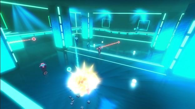 Robot Roller-Derby Disco Dodgeball Screenshot #4 for PC