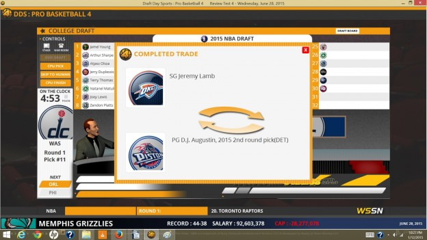 Draft Day Sports: Pro Basketball 4 Screenshot #4 for PC
