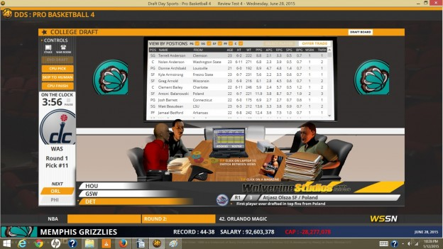 Draft Day Sports: Pro Basketball 4 Screenshot #5 for PC