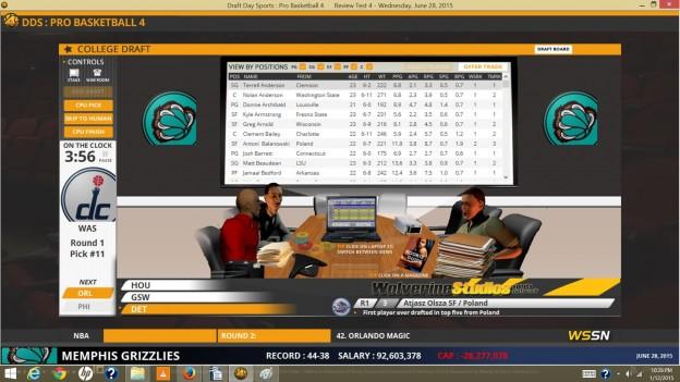 Draft Day Sports: Pro Basketball 4 Screenshot #5 for PC