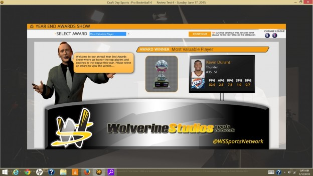 Draft Day Sports: Pro Basketball 4 Screenshot #6 for PC