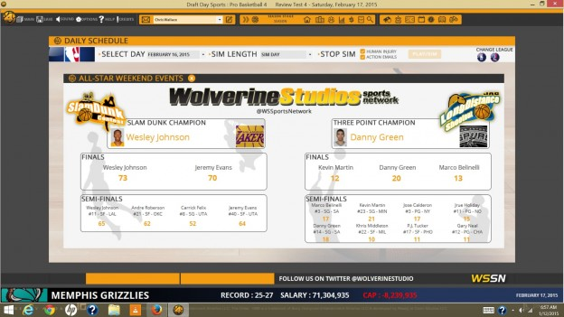 Draft Day Sports: Pro Basketball 4 Screenshot #9 for PC