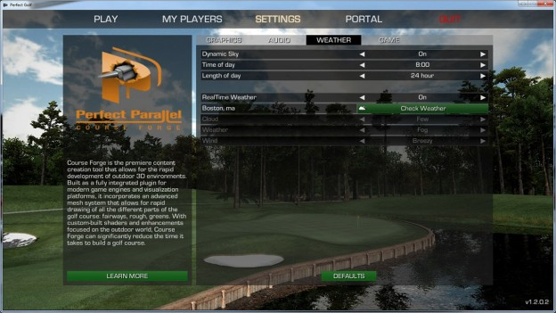 Perfect Golf Screenshot #4 for PC