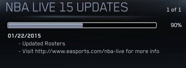NBA Live 15 Screenshot #314 for PS4