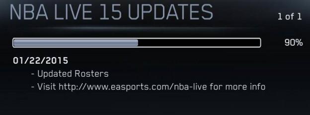NBA Live 15 Screenshot #314 for PS4