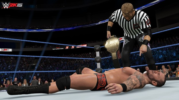 WWE 2K15 Screenshot #37 for PS4