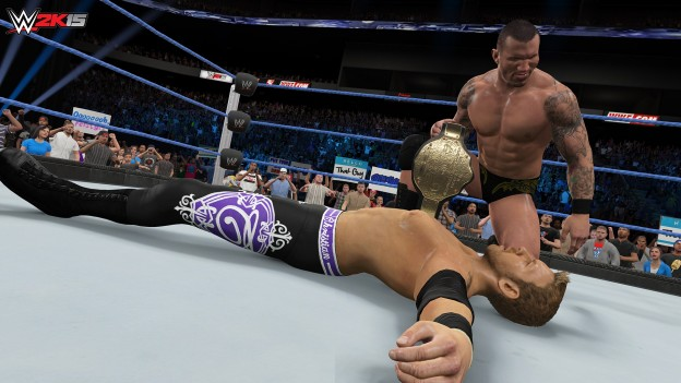 WWE 2K15 Screenshot #39 for PS4