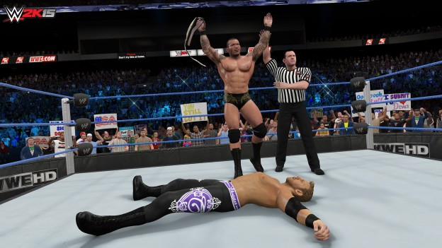 WWE 2K15 Screenshot #40 for PS4