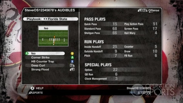 NCAA Football 09 Screenshot #519 for Xbox 360
