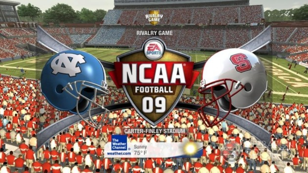 NCAA Football 09 Screenshot #524 for Xbox 360