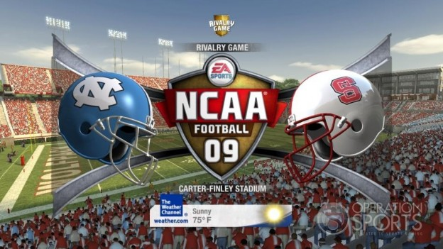NCAA Football 09 Screenshot #525 for Xbox 360