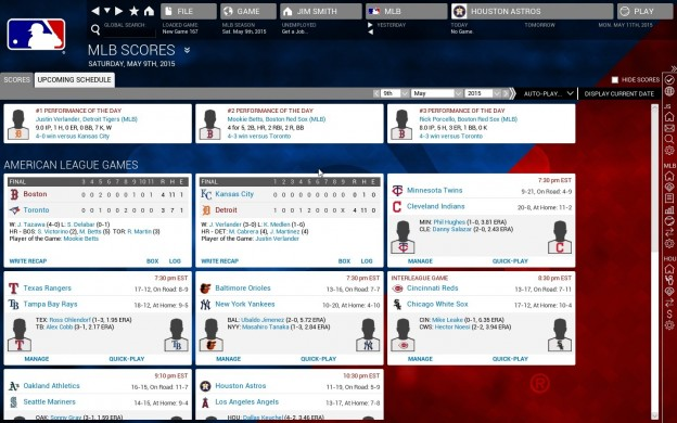 Out of the Park Baseball 16 Screenshot #3 for PC