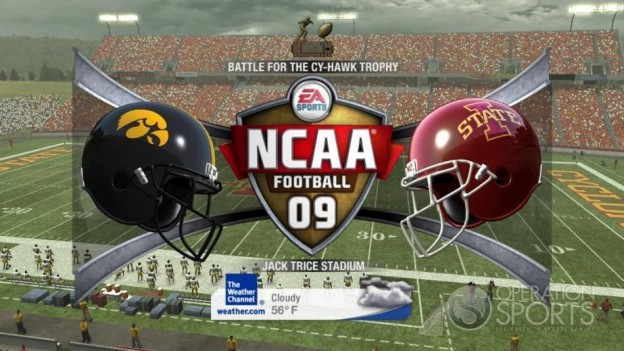 NCAA Football 09 Screenshot #532 for Xbox 360