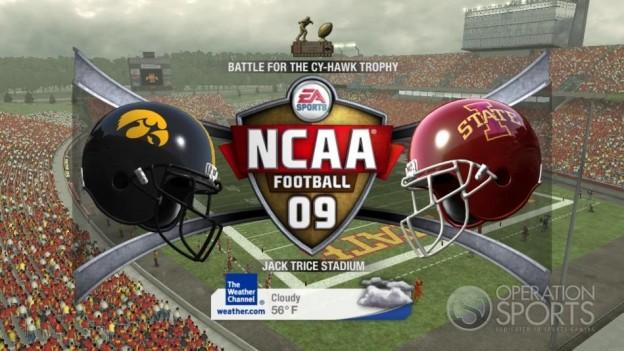 NCAA Football 09 Screenshot #533 for Xbox 360