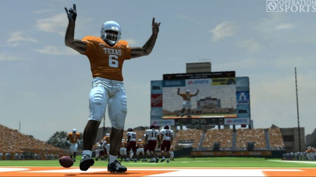NCAA Football 08 Screenshot #7 for Xbox 360
