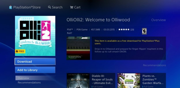 OlliOlli2 Screenshot #3 for PS4