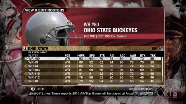 NCAA Football 09 Screenshot #541 for Xbox 360