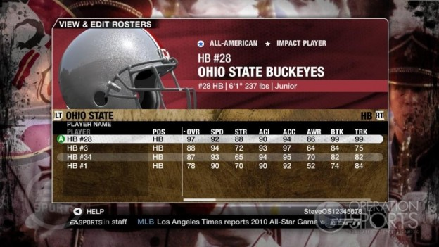 NCAA Football 09 Screenshot #542 for Xbox 360