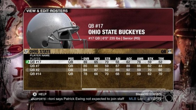 NCAA Football 09 Screenshot #543 for Xbox 360