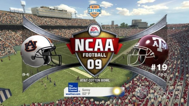 NCAA Football 09 Screenshot #549 for Xbox 360