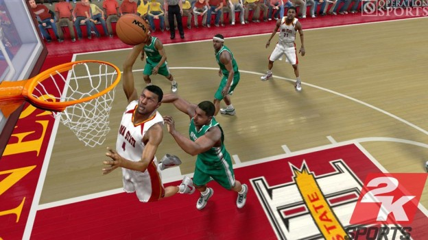 College Hoops 2K8 Screenshot #9 for Xbox 360