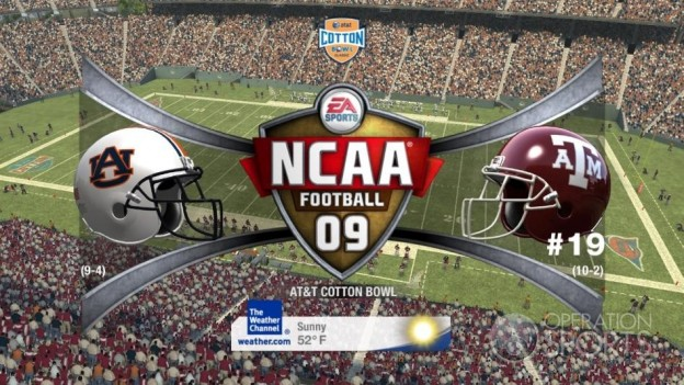NCAA Football 09 Screenshot #550 for Xbox 360