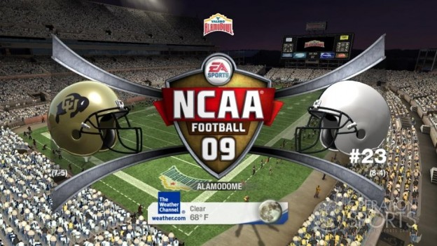 NCAA Football 09 Screenshot #553 for Xbox 360