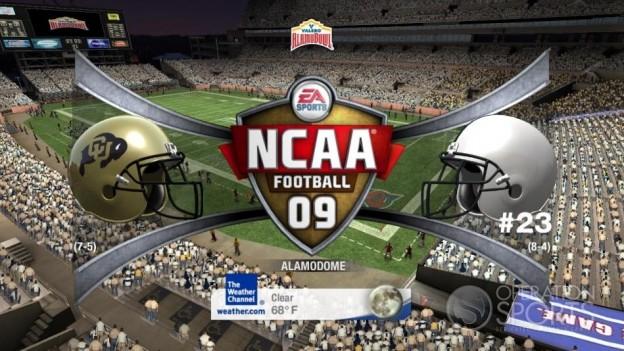 NCAA Football 09 Screenshot #554 for Xbox 360