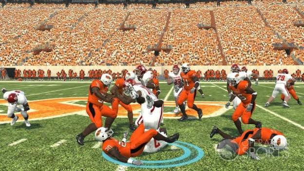NCAA Football 09 Screenshot #557 for Xbox 360