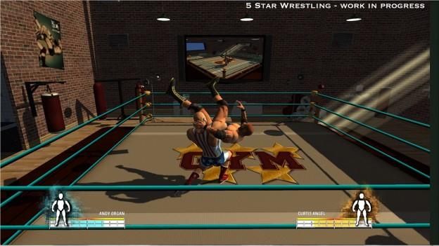 5 Star Wrestling Screenshot #1 for PS3