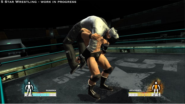 5 Star Wrestling Screenshot #2 for PS3