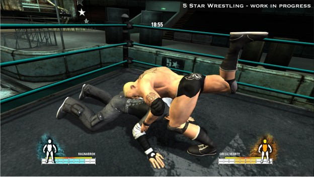 5 Star Wrestling Screenshot #3 for PS3