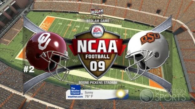 NCAA Football 09 Screenshot #565 for Xbox 360