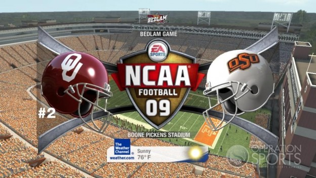 NCAA Football 09 Screenshot #566 for Xbox 360