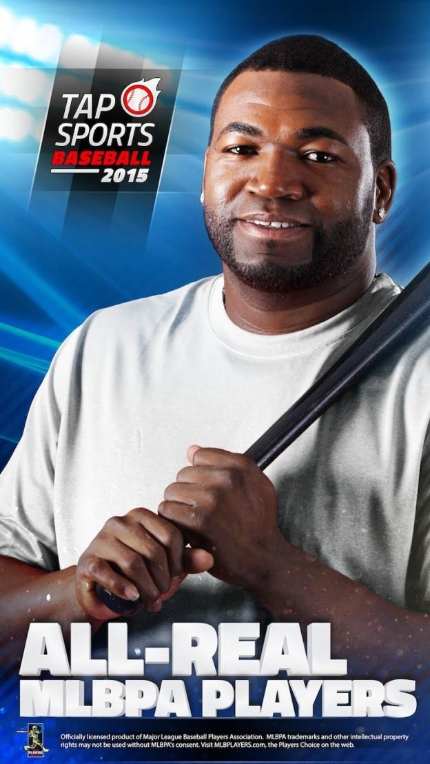 Tap Sports Baseball 2015 Screenshot #1 for iOS