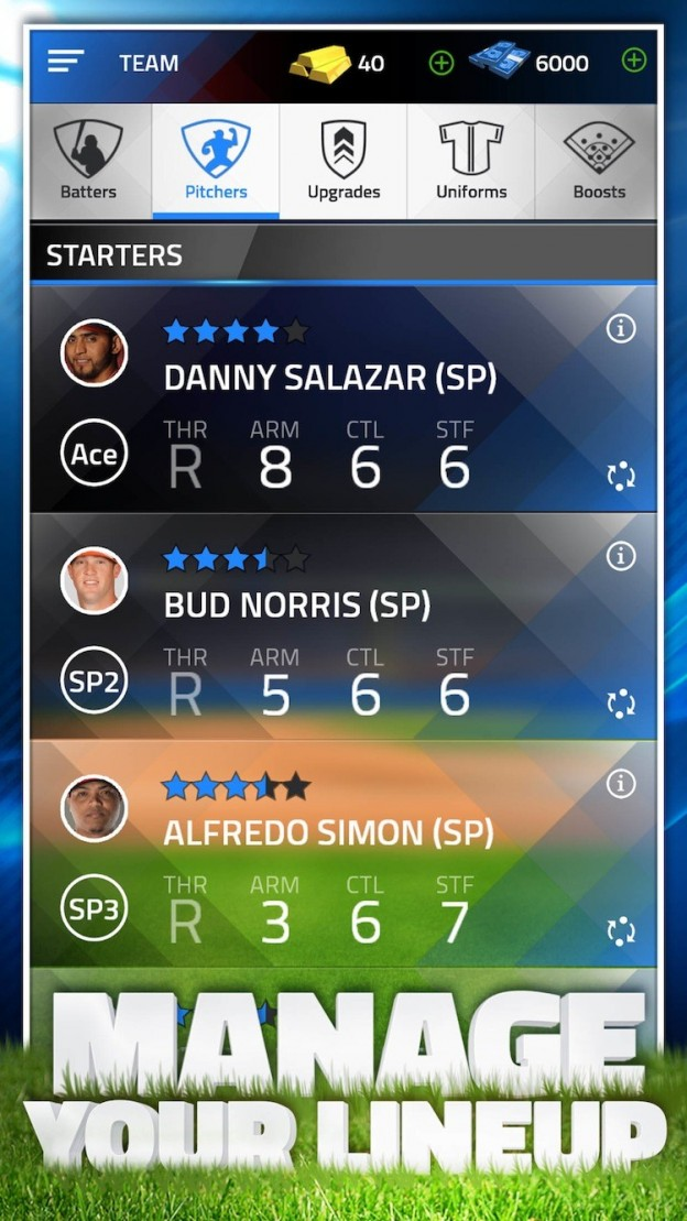 Tap Sports Baseball 2015 Screenshot #3 for iOS