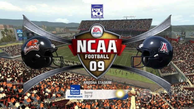 NCAA Football 09 Screenshot #569 for Xbox 360