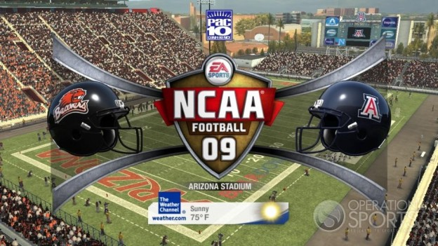 NCAA Football 09 Screenshot #570 for Xbox 360