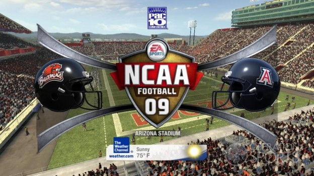 NCAA Football 09 Screenshot #571 for Xbox 360
