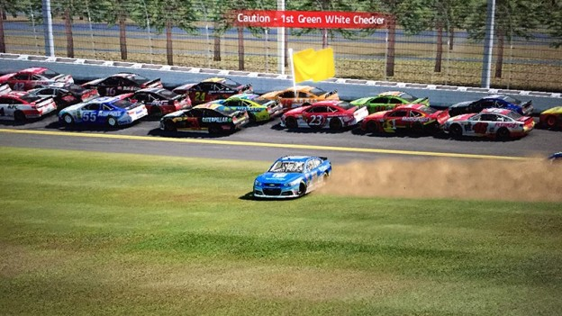 NASCAR '15 Screenshot #6 for PS3