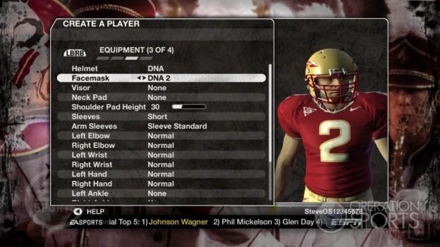 NCAA Football 09 Screenshot #578 for Xbox 360