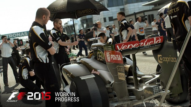 F1 2015 Screenshot #1 for PS4