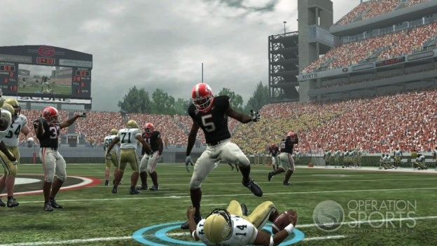 NCAA Football 09 Screenshot #580 for Xbox 360