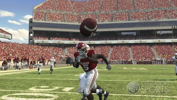 NCAA Football 09 Screenshot #582 for Xbox 360