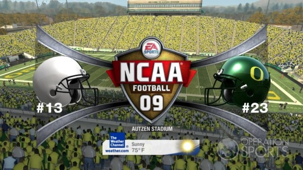 NCAA Football 09 Screenshot #588 for Xbox 360