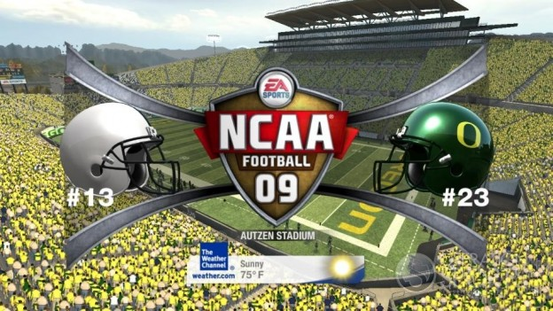 NCAA Football 09 Screenshot #589 for Xbox 360