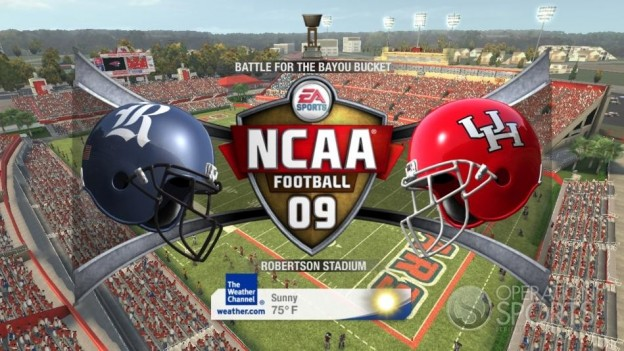 NCAA Football 09 Screenshot #593 for Xbox 360