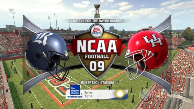 NCAA Football 09 Screenshot #594 for Xbox 360